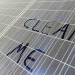 Clean me Sign